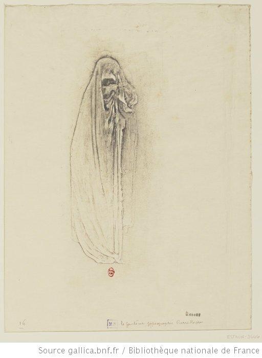 Le fantôme : [estampe] / gypsographie Pierre Roche - 1