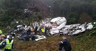 Colombia Plane Crash: Brazil Declares Three Days Of Mourning