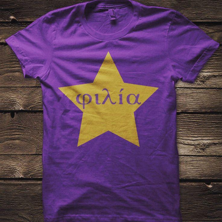 Friendship tee - Omega Psi Phi Fraternity - Que Psi Phi - Omega - Men's Tshirt - Greek Gear - Greek Paraphernalia Men's Shirt by RooSince1911Store on Etsy