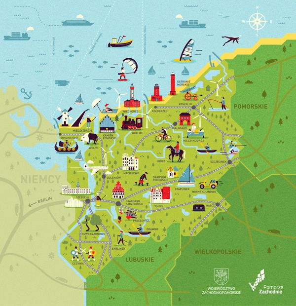 28 best Mapy Maps of Poland images on Pinterest Maps Cards and