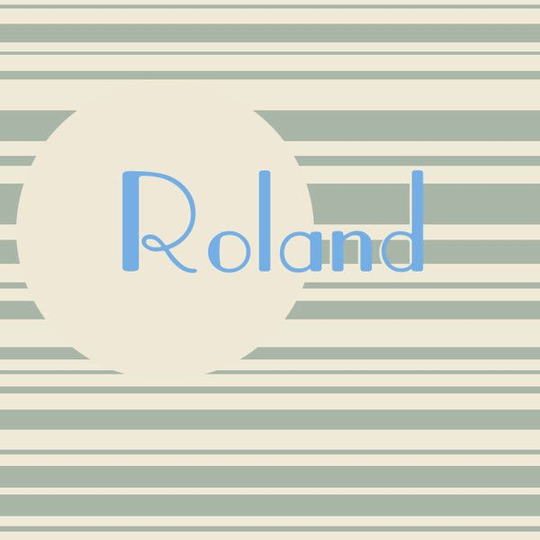 Roland - The Cutest French Baby Names for Boys - Photos