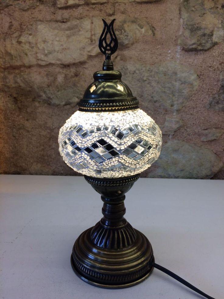"TURKISH MOSAIC TABLE LAMP, 30 cm (11.8"")"