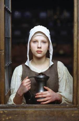 scarlett johansson girl with a pearl earring | Girl with a Pearl Earring (2003) | Eti's Time of the Day