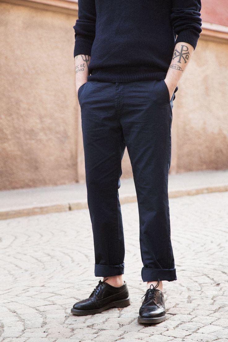 Reg Trouser - Dk Blue #HopeStockholm http://hope-sthlm.com/reg-trouser-dk-blue