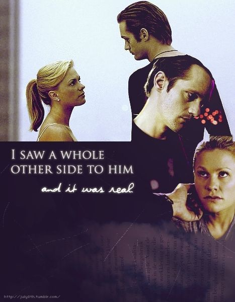 True Blood - Eric & Sookie | Still too painful to remember. *cry*sniff*cry*. It makes me sad how weird and crazy True Blood has gotten.