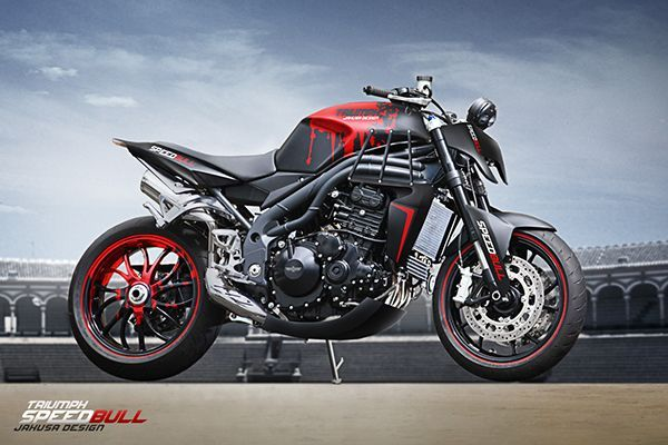 Speedbull Disegni Idee Triumph Cafe Racer Triumph Speed Triple Triumph Speed Triple 1050