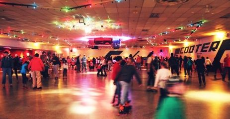 Scooter's Roller Palace - Mississauga, About $11.25 each.  Thursdays in Summer 8:00pm - 11:00 pm Retro Adult.  Sundays  8:00 pm - 11:00 pm Old School Adult Sundays (18yrs & over)