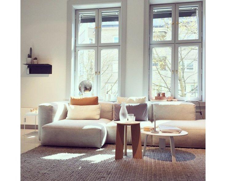 Mags Soft Ecksofa Von Hay I Design Bestseller De Living Room Decor Cozy Contemporary Living Room Design Interior Design Furniture