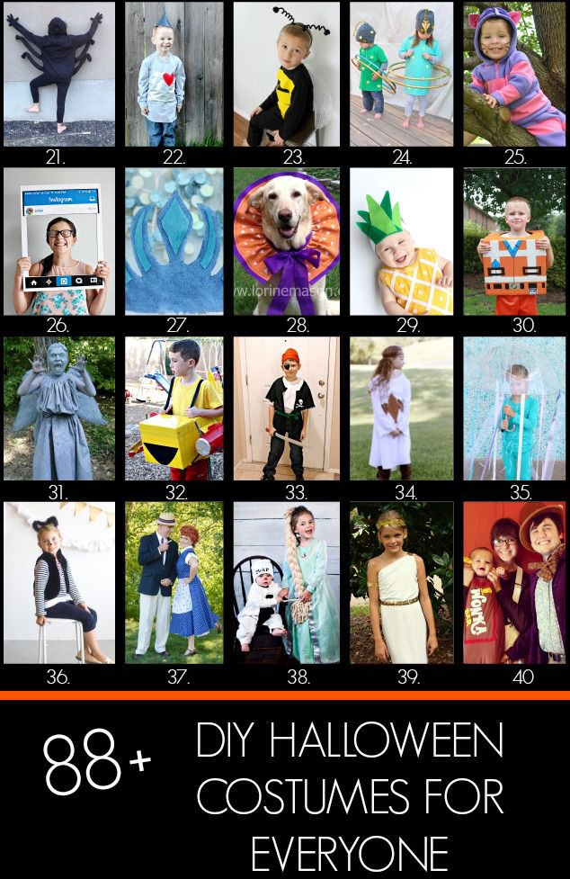 Eclectic Momsense | Pinocchio Costume Plus 88 Other DIY Halloween Costumes | http://eclecticmomsense.com
