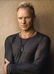 Sting, musician and actor
