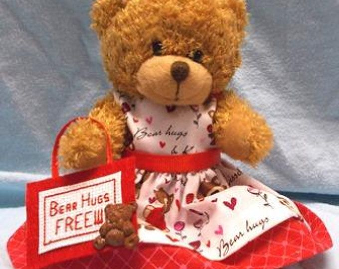 Valentines Day Gift Bear Hugs Bear Valentine S Day Valentine S Day Teddy Bear Gift Teddy Bear Gift Va Teddy Bear Gifts Teddy Bears Valentines Custom Teddy Bear