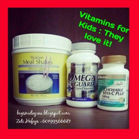 Kids need supplement like us! Membantu dalam proses tumbesaran, perkembangan otak dan meningkatkan ketahanan sistem imun mereka.