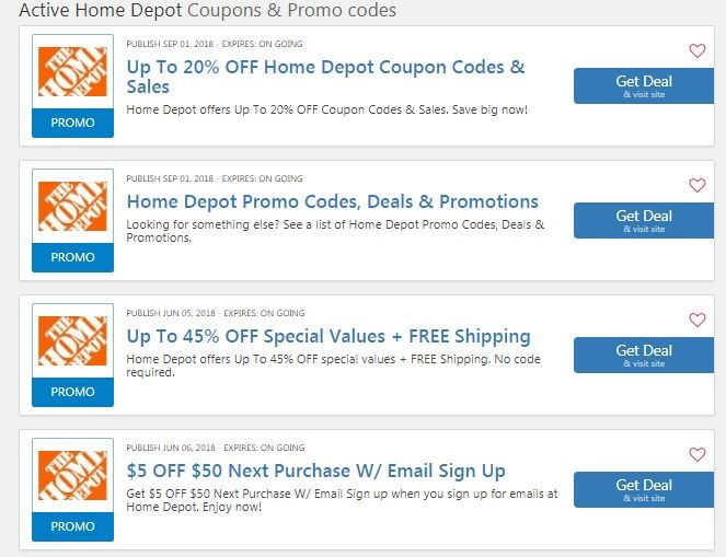 Home Depot 25 Off 100 Home Depot 10 Off Moving Coupon Home Depot Discount 20 Home Depot Coupons Home Depot Online Coding