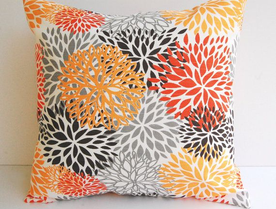 40 Best Pillows Images On Pinterest Cushions Toss Pillows And Classy Gray And Orange Decorative Pillows