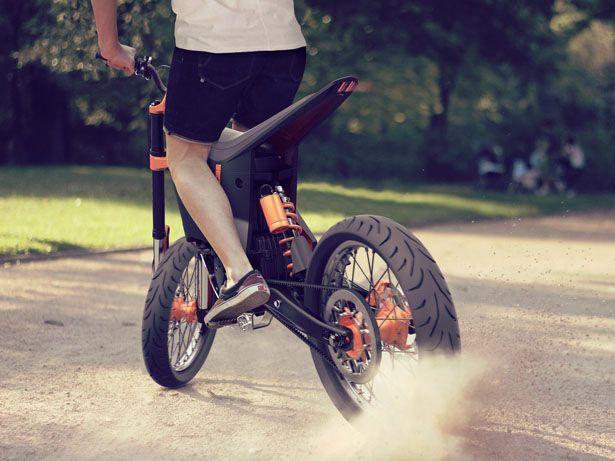 Ktm Dual Sport >> KTM Delta by Benjamin Loinger | new | Electric dirt bike ...