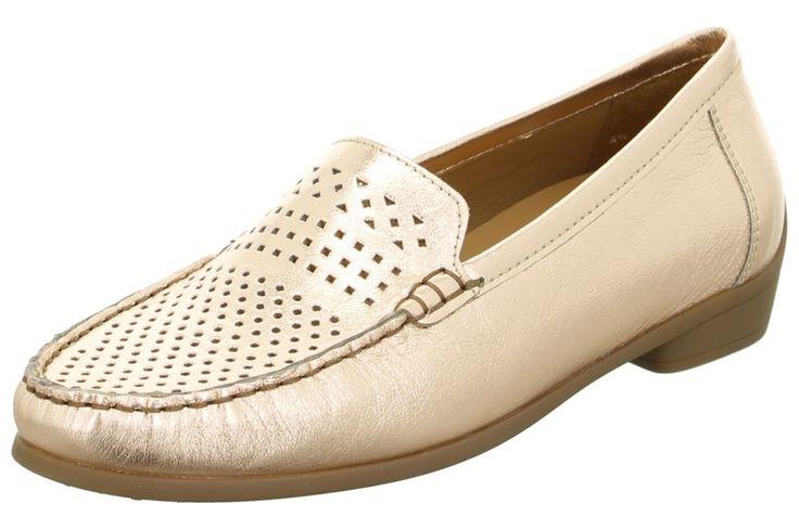 letní obuv-ara mokasíny