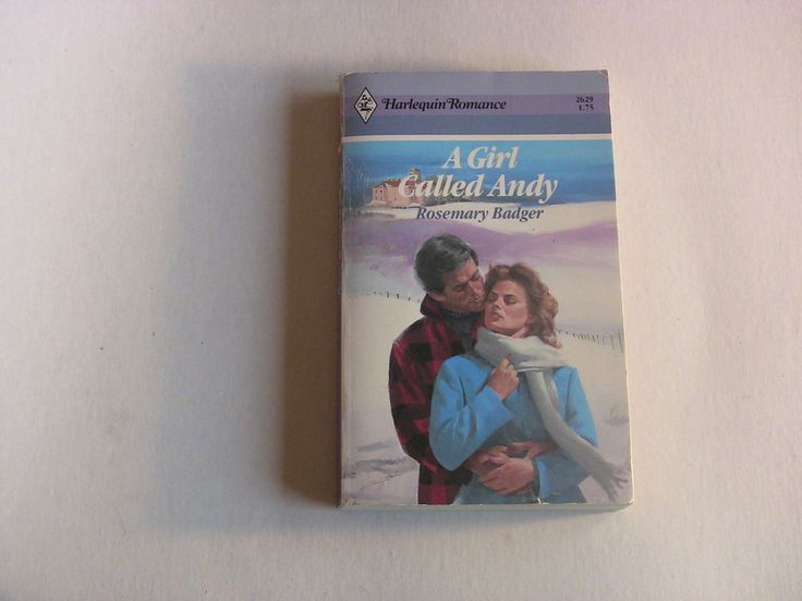 Harlequin Romance Paperback Book #2629 Girl Called Andy Rosemary Badger 1984 1st Edition