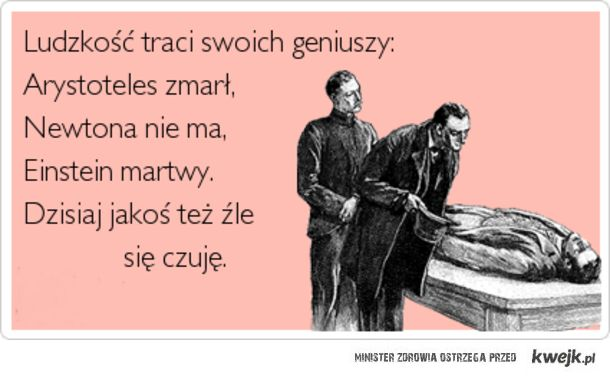 Traci geniuszy