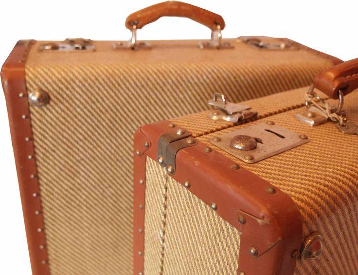 Juego de maletas antiguo. Datación: años 50-60, s.XX.