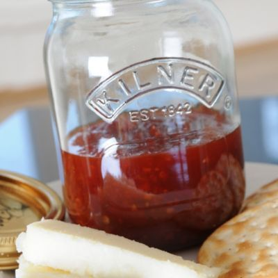 A Lakeland recipe for Sweet Chilli Jam, happy cooking!