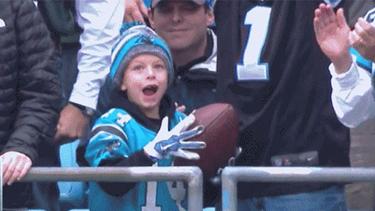 Cam Newton made a special Panthers game even more memorable for one fan.