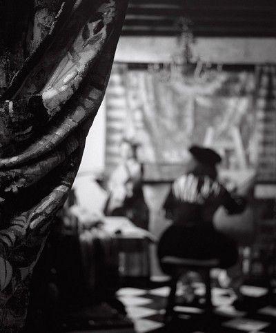 PAUL KILSBY - THE ALLEGORY after Vermeer
