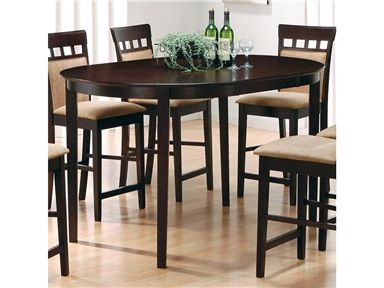 shop for coaster dining table 100208 and other dining room dining tables at americana. beautiful ideas. Home Design Ideas