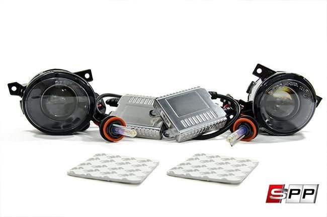 HID Light Projector Fog Light Conversion Kit, Volkswagen Mk5- 4300K