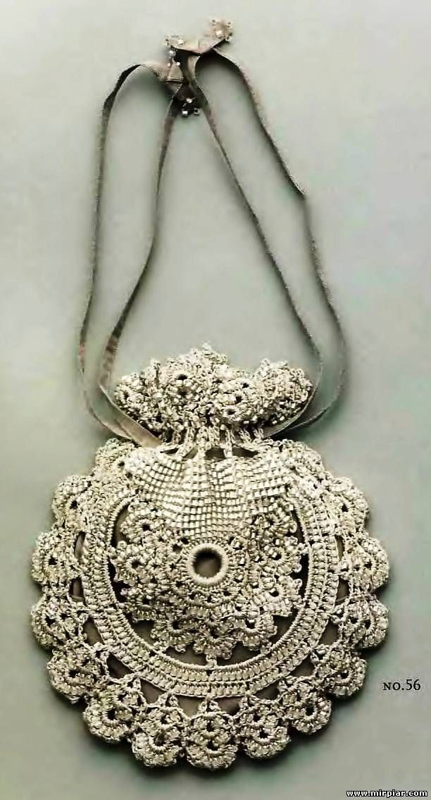 Crochet Bag with full pattern- love it!