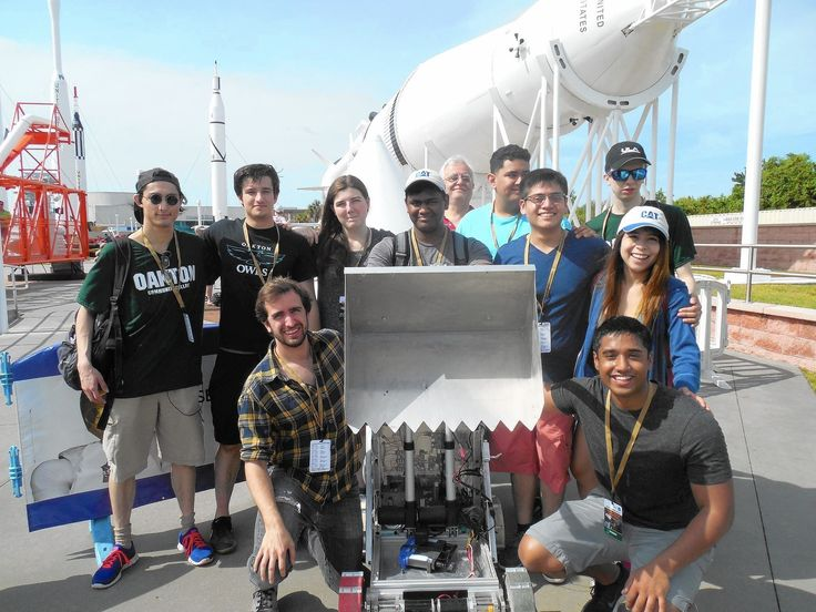 Oakton Community College students take 2nd in NASA robotics competition
