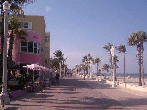 Hollywood Beach Florida :)