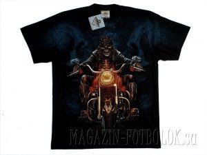 Популярная футболка байкерская Ночной байкер.
