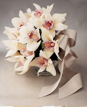 Gelin çiçeği, bouquet, wedding, orchid, orkide...