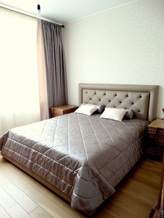 Шторы.Шторы в спальню. Шторы на заказ. Портьеры. Покрывало в спальню. Покрывало на кровать. Подушки. Валики. Пошив штор. Текстиль для дома.