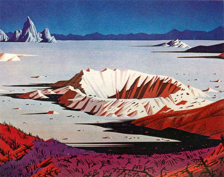 Даже теплые цвета воспринимаются холодно. Но кратор все равно по доброму напоминает песочницу.