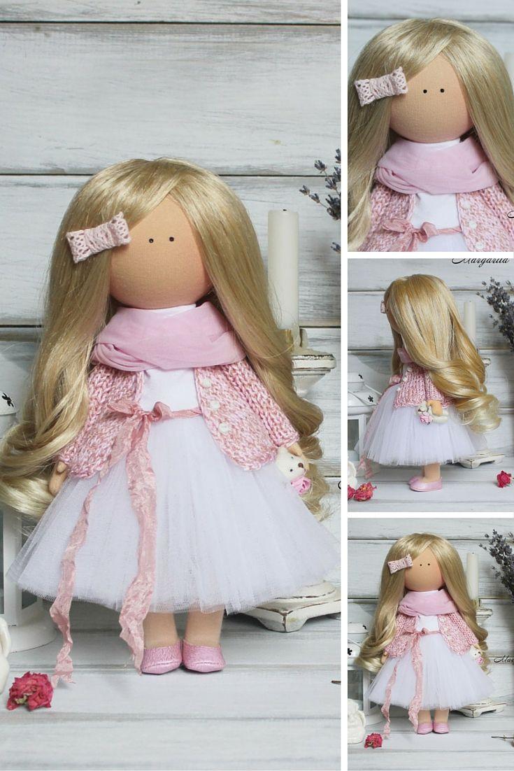 Love doll handmade Nursery decor doll Home doll Art doll Baby doll unique magic doll by Master Margarita Hilko