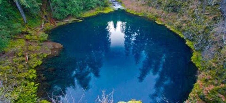 Tamolitch Pool Trailhead