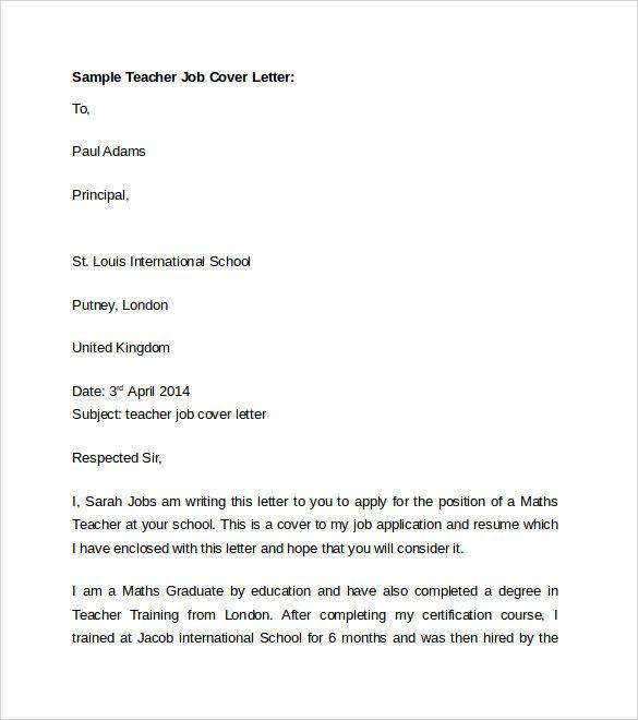 esl teacher sample resume sle cover letter english