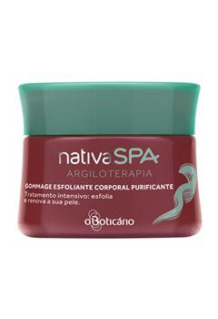 Nativa SPA Gommage Sabonete Esfoliante Corp. Purificante Argiloterapia, 220g