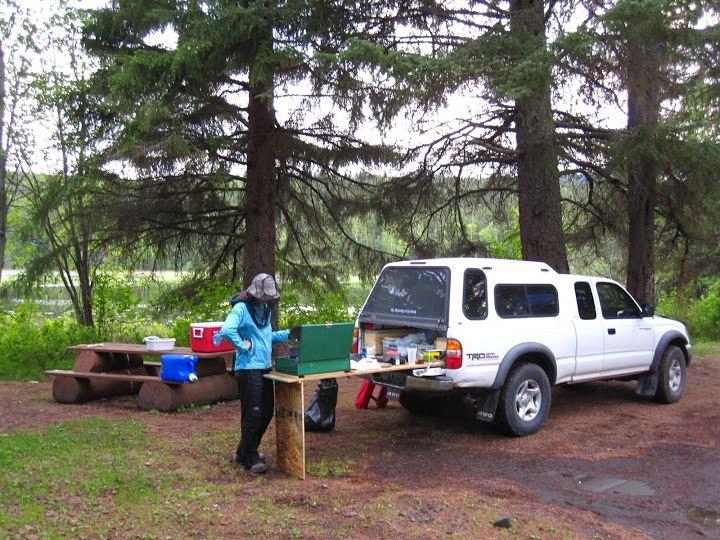Sleeping Platform, Carpet Kit, Camping Setup