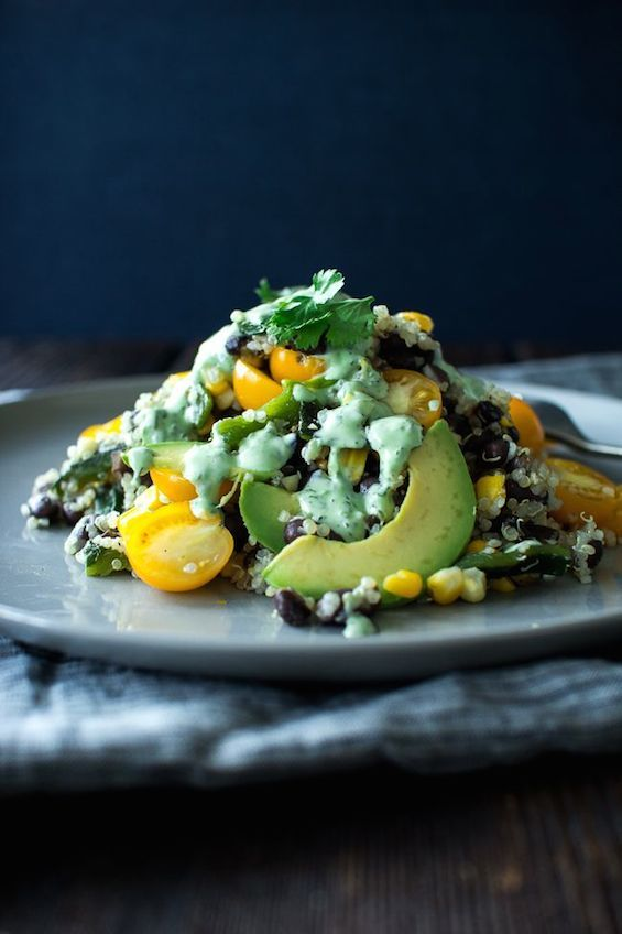 Poblano Corn Salad