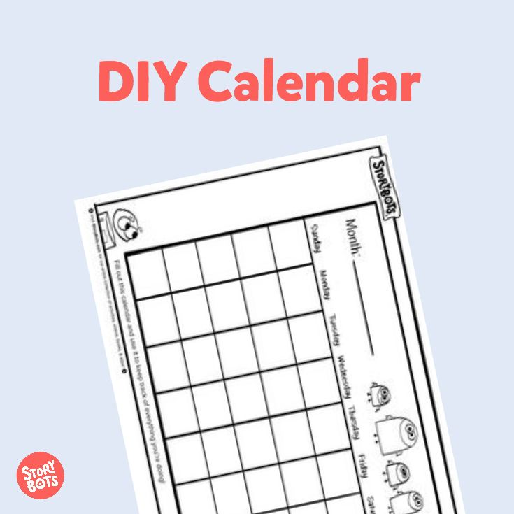 22 best back to school activity sheets images on pinterest for Make my own calendar template