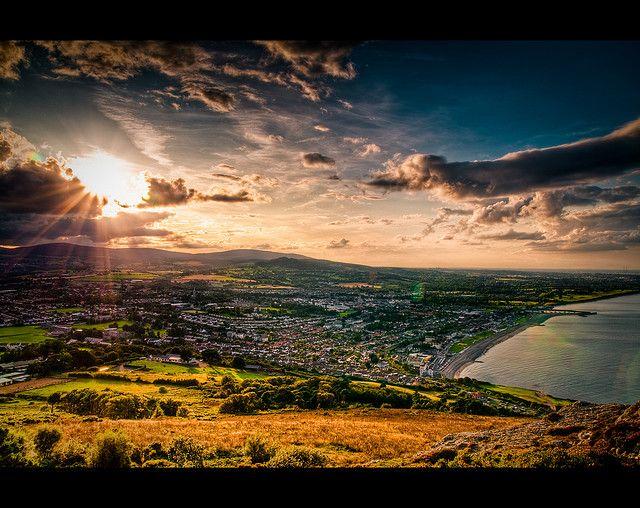 Bray, Wicklow, Ireland  ...very close to where we live :)