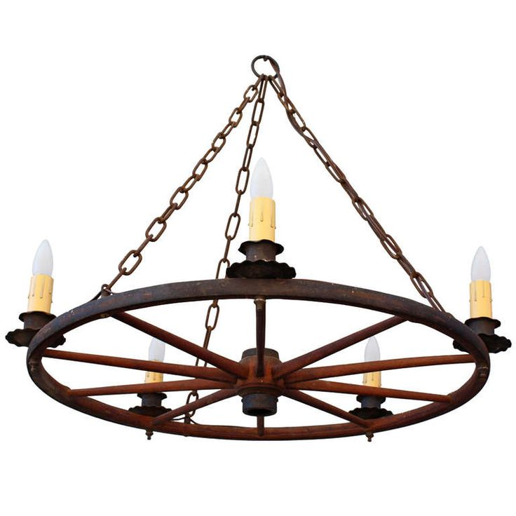 Wagon Wheel Light Chandelier: 15 Best Wagon Wheel Chandelier Images On Pinterest