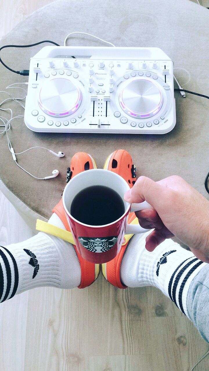 #adidas #pioneer #dj #coffee #corcs #starbucks #menstyle #home