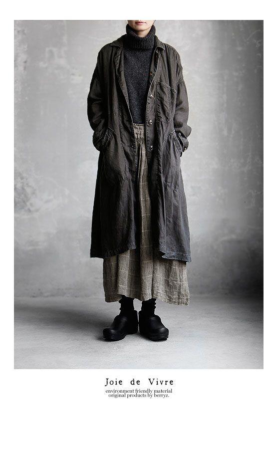 Joie de Vivre hardware men linen vintage die creator coat