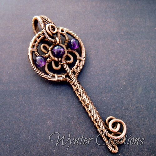Amethyst key