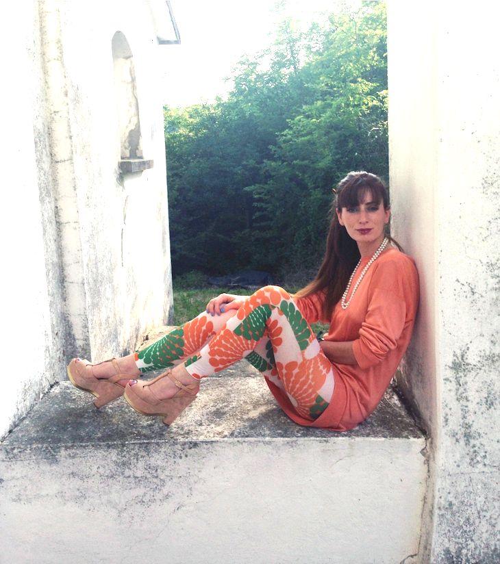 blogger the fashionamy amanda marzolini,  Fiorangelo pink suede wedges