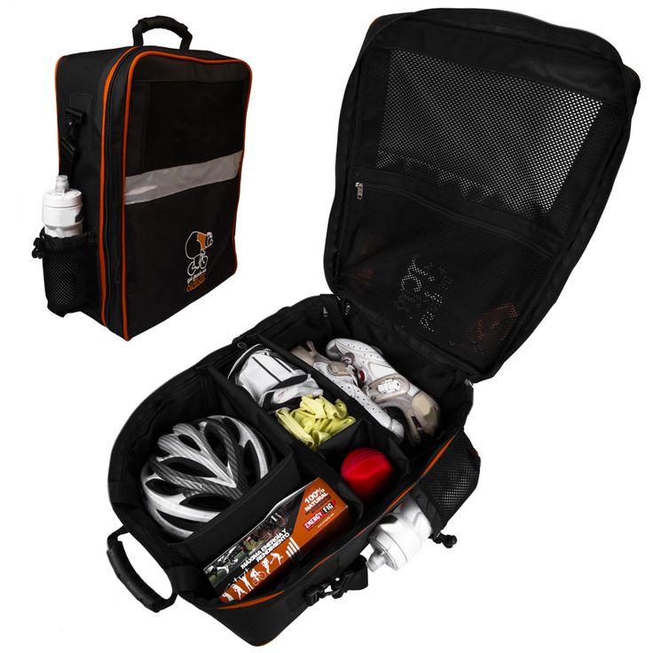 Maleta para ropa y accesorios de #ciclismo qué grande ser ciclista #maletas #mochilas #cycling #case Fabricada en España
