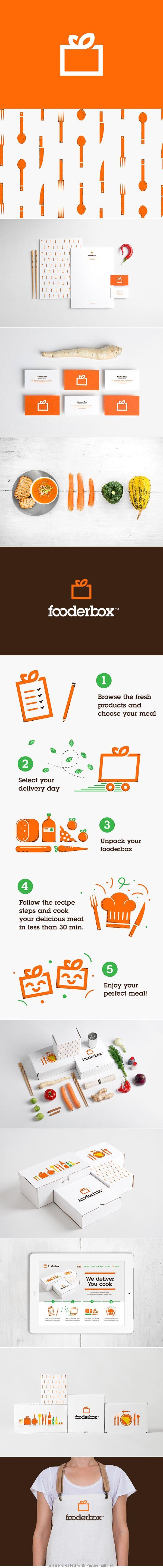 Fooder box #identity #packaging #branding PD